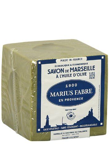 Marseillské mýdlo olivové 200 g - Marius Fabre