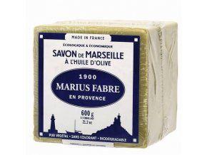 Marseillské mýdlo olivové 600 g - Marius Fabre